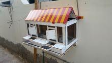 قفص خشبي للدجاج او السمان (الفر) يصلح لجمع البيض
