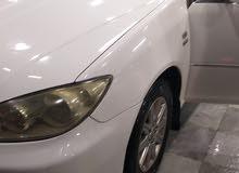 توبوتا كامري بيضاء اللون 2005 بحالة جيدة جدآ للبيع