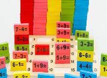 لعبة تعليمية للاطفال .. خشبية من 110قطعه