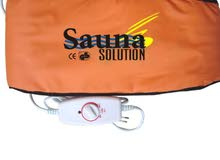 حزام سونا سلطي حرارة + هزاز لشد البطن