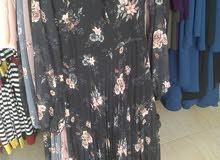 فستان تركي خامة ممتازة مقاس S L M XL