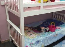سرير   دوبل  مقاس  1م × 2 م