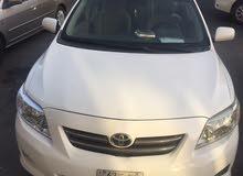 Toyota Corolla 2010 For sale - White color