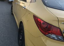 Hyundai Accent 2014 For sale - Yellow color