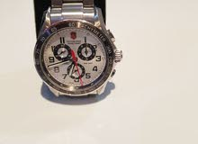 Victorinox Swiss Army stainless steel chronograph watch for men