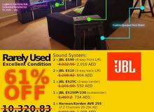 JBL ES Series 5.1 Sound + Harman/Kardon 7.1 + Speaker Stand