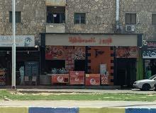 محل علي الشارع التجاري بحري