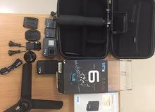 GoPro 6 hero + original GoPro charger + 2 original GoPro battery + All accessories + memory card 64
