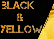 Black & yellow