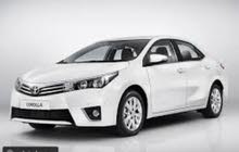 Rent a 2015 Toyota Corolla with best price