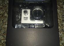 الكاميرة الرياضية، ضد الماء، HD، الجودة  1080p اصلية في بكيتها