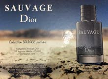 Dior SAUVAGE 100ml طاقم كامل واصلي