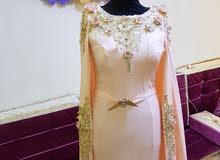 فستان سعرة وردي من كيو فاشن