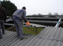 دهن و بناء و تركيب و صيانة اسطح المصانع