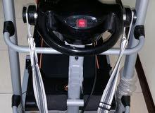 ماكينة للجرى وعمل مساج للبطن والظهر والارداف لم تستخدم غير 6 مرات على الاكثر