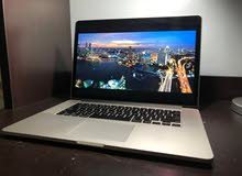 Apple Macbook pro 2015 mid 15 inch Dual Graphics Core i7