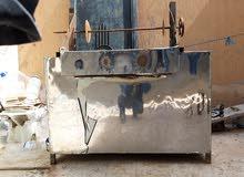 مكينة شاورما ع الفحم للبيع كاش أو شيك