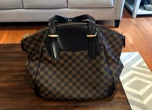 Authentic Louis Vuitton Damier Ebene Canvas Verona MM Bag