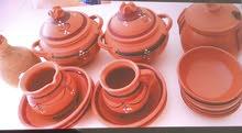 تم تخفيض طقم الفخار اصلي للطبخ والتقديم