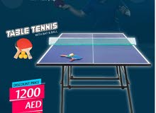 Table Tennis Indoor Table On Sale.