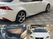 Lexus Is 350 platinum موديل: 2014