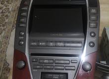 للبيع شاشة لكزس ES350 موديل 2008 بسعر 30 وقابل لاسرع متصل شغاله من احسن مايكون ل