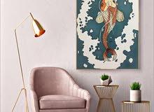 لوحات جدارية ديكورات لوحات يدوية