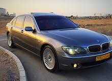 Grey BMW 750 2006 for sale