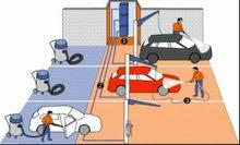 ابحث عن محل متكامل لتلميع وتنظيف السيارات في العامرات