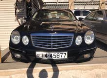 Black Mercedes Benz E 200 2008 for sale