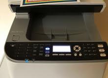 ماكينة تصوير وطبعه وفاكس واسكانر ليزر ألوان استيراد الخارج بضمان 3 شهور والتوصيل