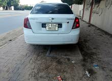 White Chevrolet Optra 2008 for sale