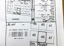 للبيع ارض سكنية خلف الجامعة الالمانية بـ (26000)رع