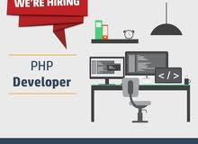 مطلوب للتعيين فورا: مطور مواقع بلغة بي اتش بي (PHP Developer)