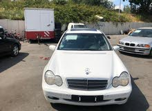 Automatic White Mercedes Benz 2004 for sale