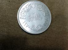 جنيه فضه نادر للزعيم جمال عبد الناصر لأعلى سعر