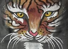 رسمة نمر للبيع