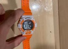 ساعة جي شوك برتقالية جديدة تقليد