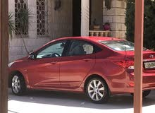 Hyundai Accent 2013 For sale - Maroon color