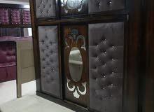 غرفة نوم ماستر طابقين لاتيه 18 وم د ف مع فرشة هدية 300 دينار فقط