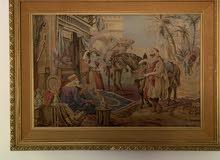 4 لوحات للبيع بسعر مغري