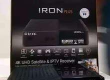 عملاق الرسيفرات والاكثر مبيعا ICONE IRON PLUS 4K