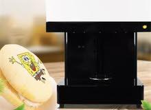 آلة للطباعة على القهوة والاطعمة New