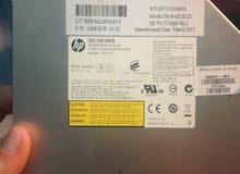 قارىء cd/dvd reader ديسك توب ____cd/dvd rw drive   HP laptop + شاحن hp اصلي مستعمل استعمال بسيط