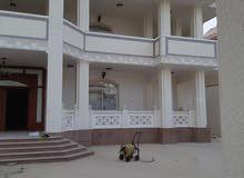 فيلا تحت التشطيب للبيع بناء فاخر vib في مدينه محمد بن زايد12 غرفة ماستر