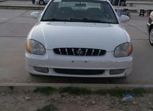 Automatic White Hyundai 2001 for sale