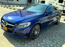 Mercedes Benz C 300 car for sale 2017 in Muscat city
