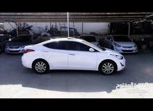 Hyundai Avante 2016 For Rent - White color
