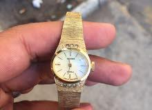 ساعة انتيكا اورينت مانول عمرها50 عام مطلية ذهب