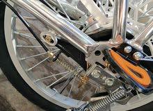 دراجة هوائية وكهربائية بالشحن
